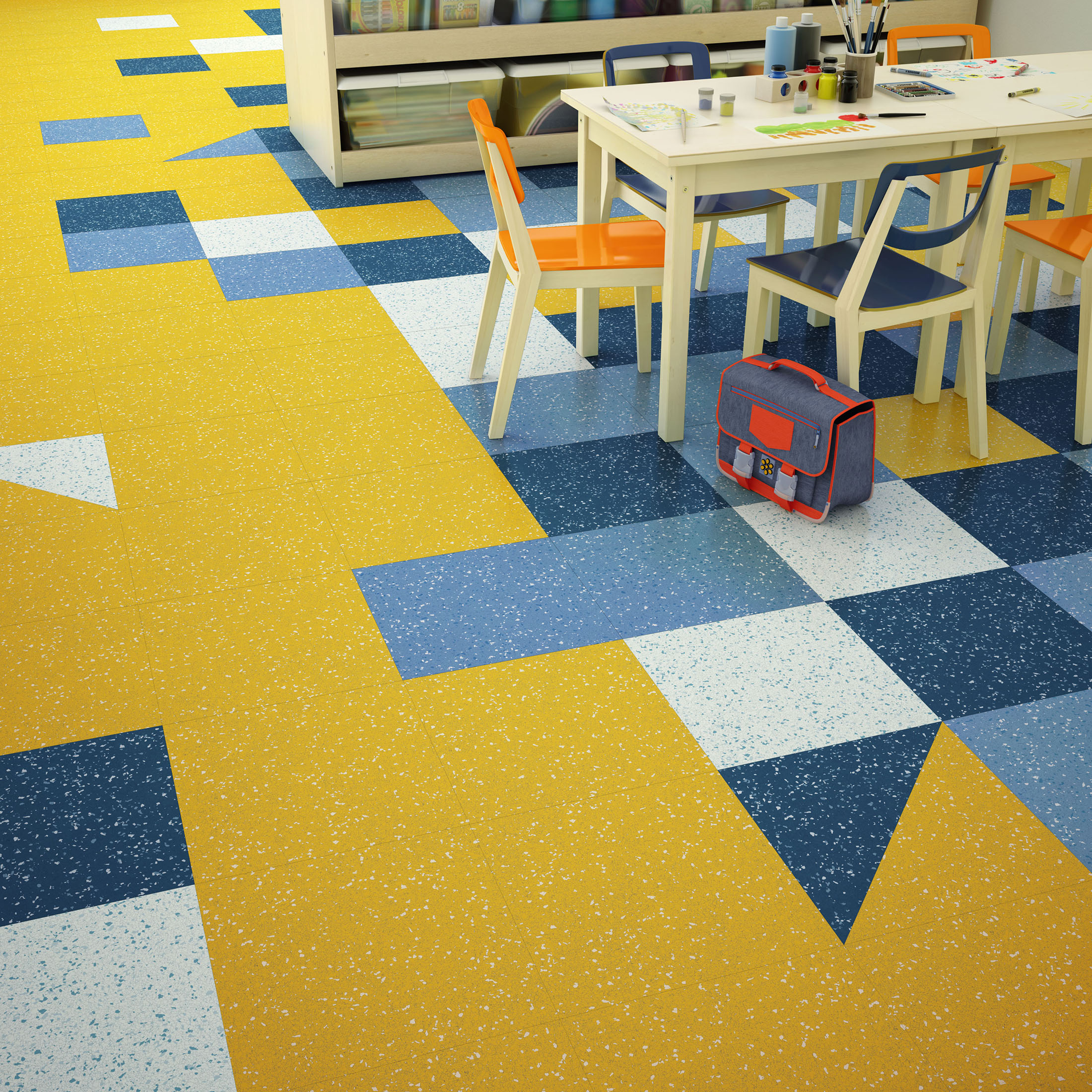 Hardwood Flooring Distributors Texas: Texas Granite® - Solid Vinyl Tile