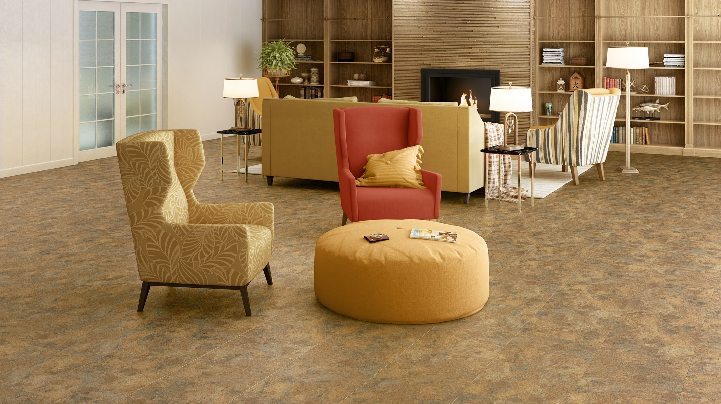 Floating tile floors