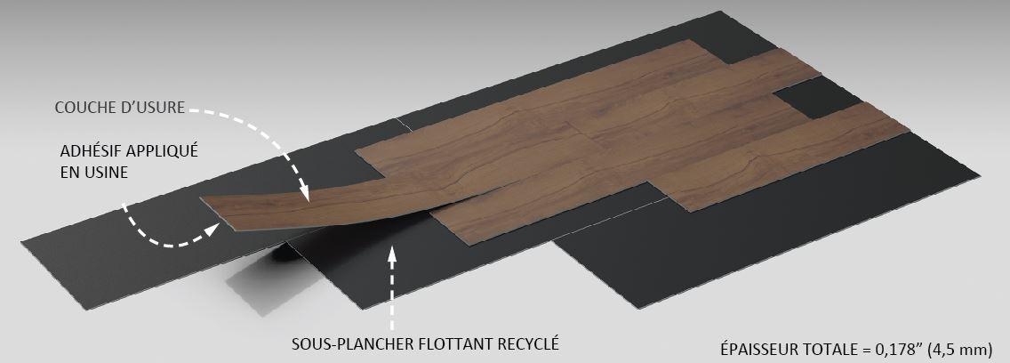 Teccare 174 Plancher Flottant Carreaux De Vinyle Quot Luxury